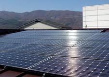 キタハラ太陽光発電システムの写真